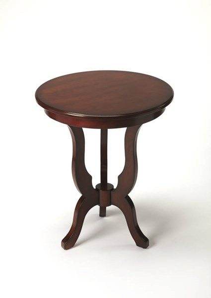 Butler Specialty Plantation Cherry Dark Brown End Table BSF-6222024