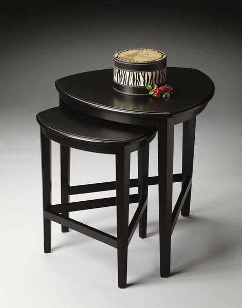Butler Specialty Loft Finnegan Black Nesting Tables BSF-7010111