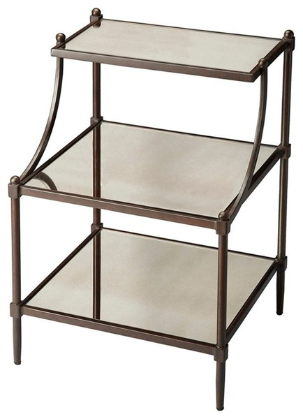 Butler Specialty Metalworks Peninsula Tiered Side Table BSF-7015025