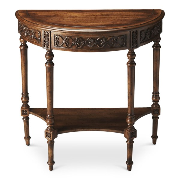 Butler Specialty Masterpiece Danelle Demilune Console Table BSF-7027236