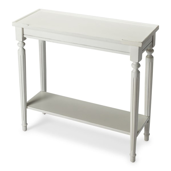 Butler Specialty Masterpiece Aubrey White Console Table BSF-7036222