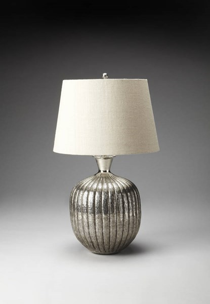 Butler Specialty Hors Doeuvres Silver Aluminum Table Lamp BSF-7120116