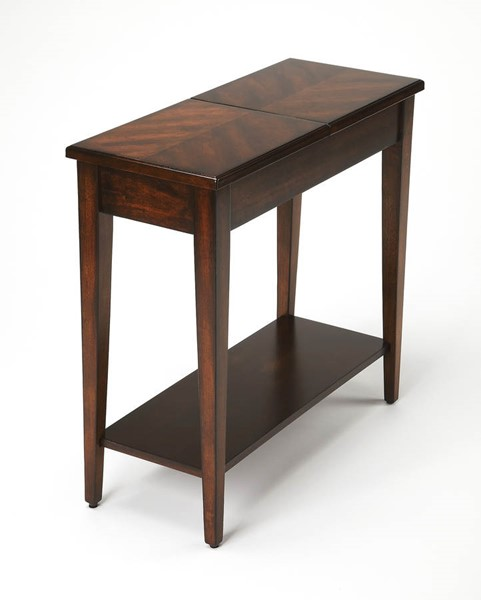 Butler Specialty Plantation Cherry Jansen Wood Chairside Table BSF-9251024