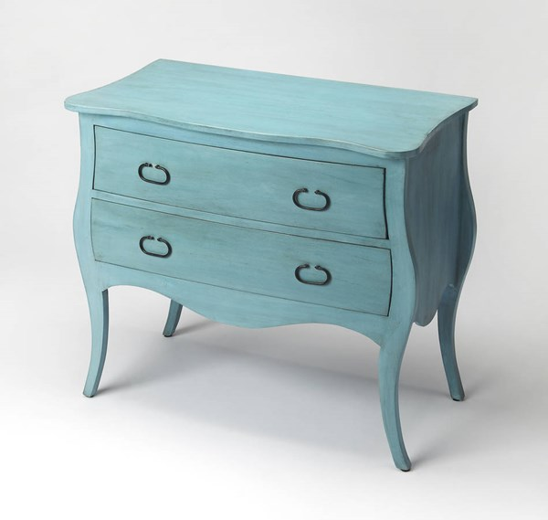 Butler Specialty Masterpiece Rochelle Blue Drawer Chest BSF-9307301