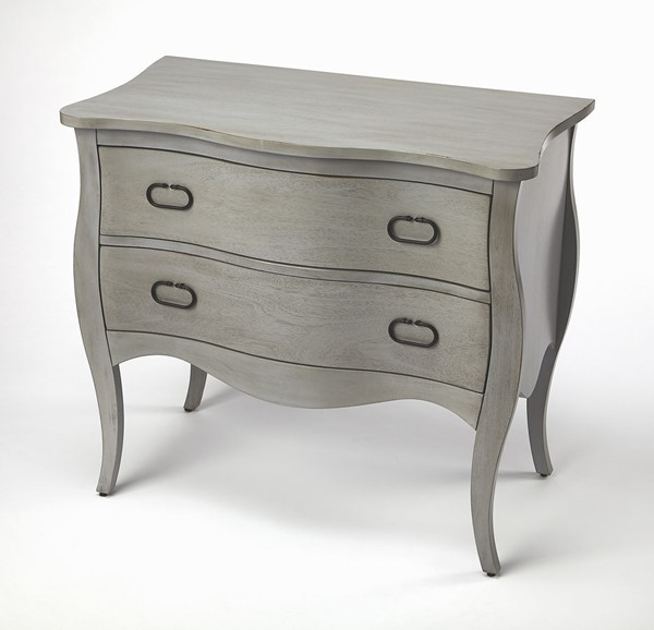 Butler Specialty Masterpiece Rochelle Gray Drawer Chest BSF-9307329