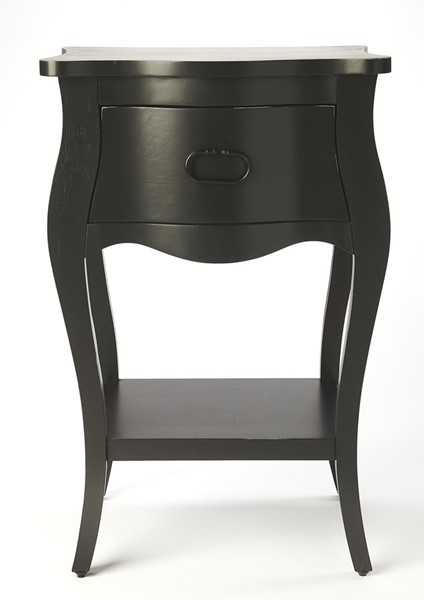 Butler Specialty Masterpiece Rochelle Black End Table BSF-9308295