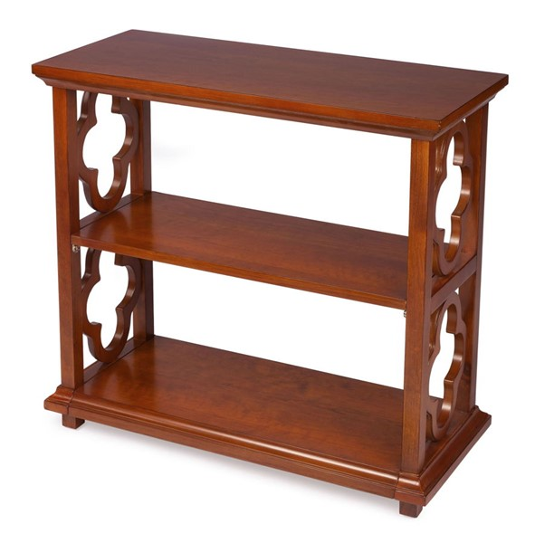 Butler Specialty Masterpiece Paloma Olive Ash Burl Brown Bookcase BSF-9331101
