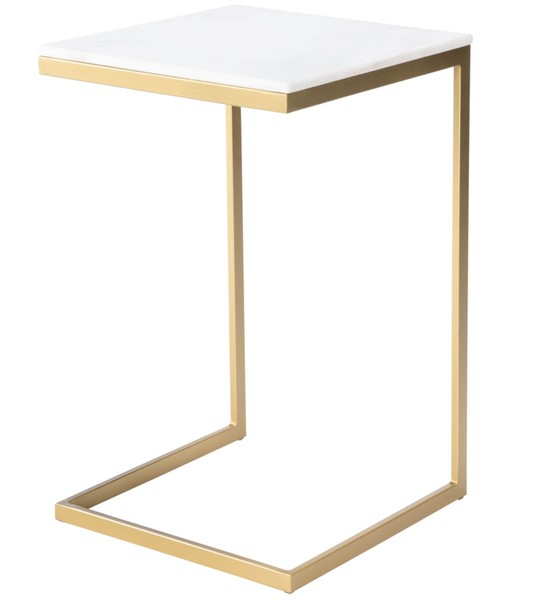 Butler Specialty Metalworks White Gold End Table BSF-9349025