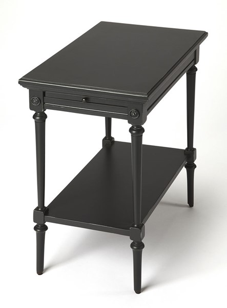 Butler Specialty Masterpiece Easterbrook Black End Table BSF-9355295