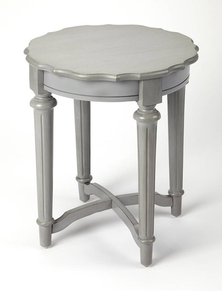 Butler Specialty Masterpiece Kendrick Gray End Table BSF-9357329