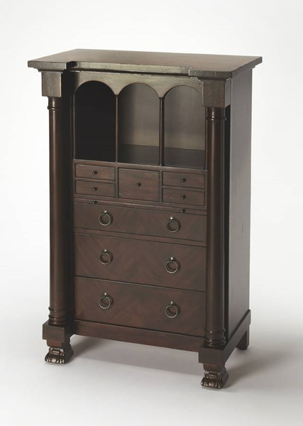 Butler Specialty Smithsonian Brown Secretary Desk BSF-9400347