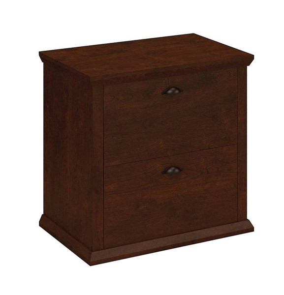 Bush Furniture Yorktown Antique Cherry Lateral File BUSH-WC40380-03