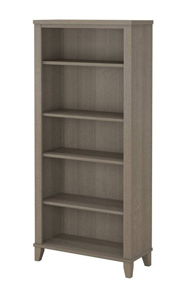 Bush Furniture Somerset Ash Gray Bookcase BUSH-WC81665