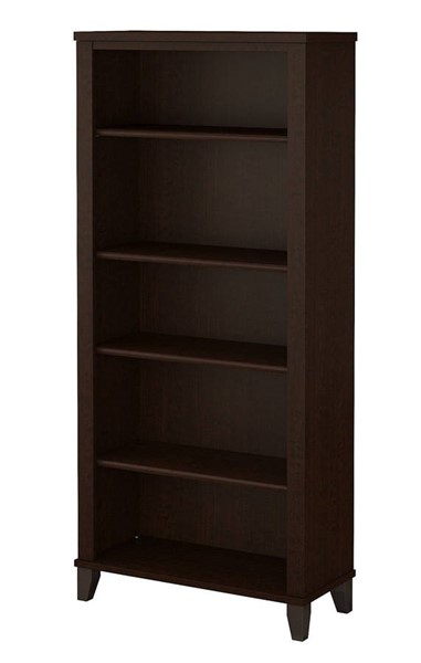 Bush Furniture Somerset Mocha Cherry Bookcase BUSH-WC81865