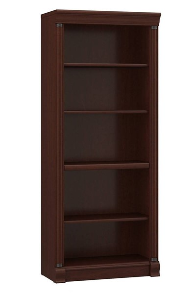 Bush Furniture Birmingham Executive Harvest Cherry Bookcase BUSH-WL26665-03