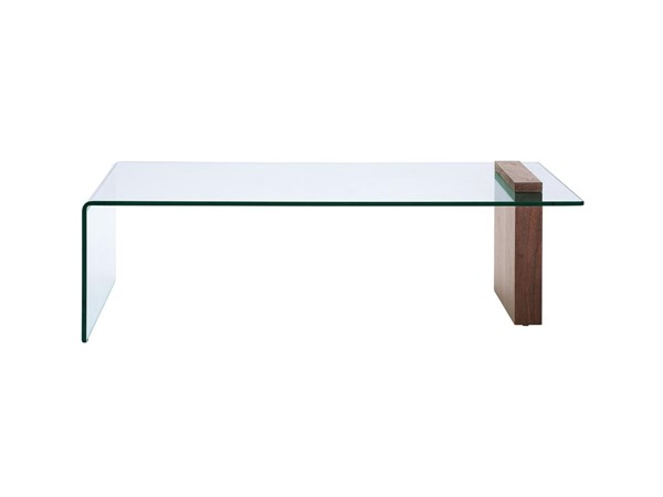 Casabianca Buono Modern Glass Rectangle Coffee Tables CASA-CB-1154-OCT-CT-VAR