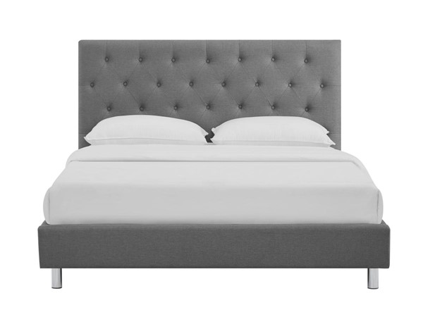 Casabianca Miles Ii Fabric Upholstered Headboard Queen Beds CASA-CB-233-Q-BED-VAR