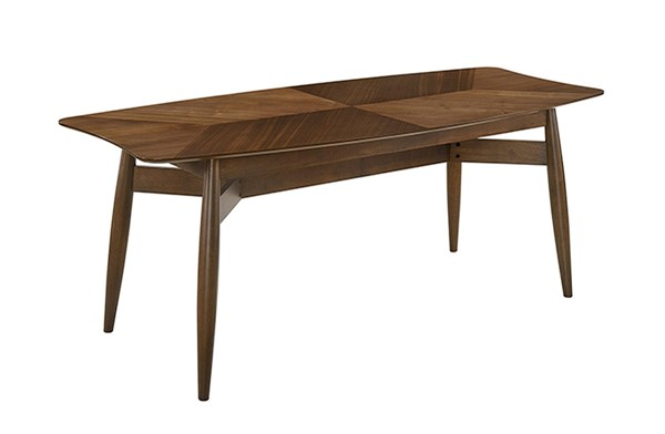 Casabianca Home Bentley Walnut Veneer Dining Table CASA-CB-8108