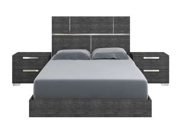 Casabianca Milo Modern Gray MDF Beds CASA-TC-9005-BED-VAR