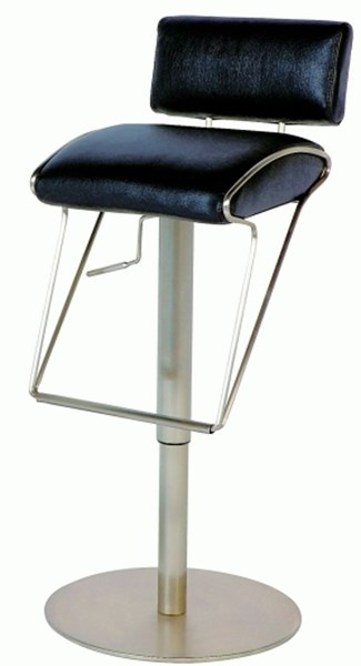Pneumatic Gas Lift Adjustable Height Swivel Stool 0561-As-Blk CHF-0561-AS-BLK