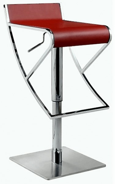 Pneumatic Gas Lift Adjustable Height Swivel Stool 0815-As-Red CHF-0815-AS-RED