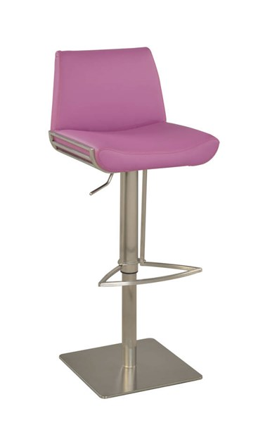 Modern Purple PU Armless Pneumatic Stool CHF-0854-AS-PUP