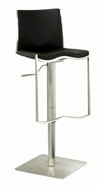 Pneumatic Gas Lift Adjustable Height Swivel Stool 0865-As-Blk CHF-0865-AS-BLK