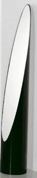 Matte Black Cylinder Shaped Mirror Stand CHF-1101-MS