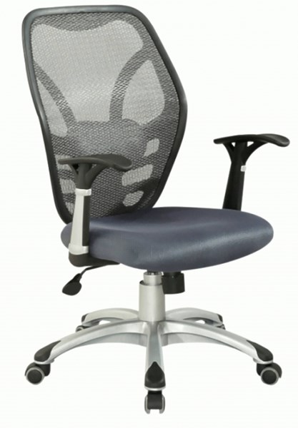 Grey Metal Mesh Seat & Back Pneumatic Office Chair CHF-4220-CCH