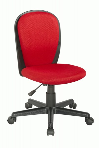 Chintaly Imports Red Youth Desk Chair CHF-4245-CCH-RED
