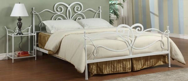 Queen Metal Bed Headboard And Footboard 6275-Bed-Qn-Hfbd CHF-6275-BED-QN-HFBD