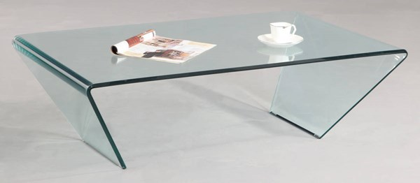 Chintaly Imports Clear Rectangle Cocktail Table CHF-72102-RCT-CT