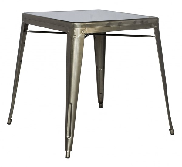 Chintaly Imports Alfresco Gunmetal Dining Table CHF-8029-DT-GUN