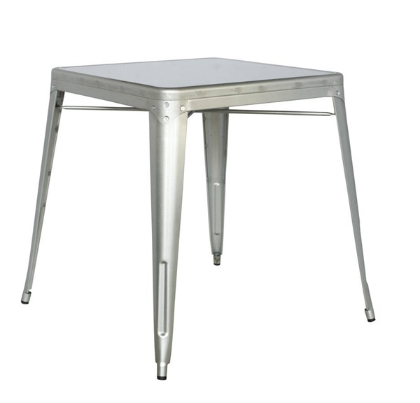 Chintaly Imports Silver White Dining Tables CHF-8029-DT-VAR