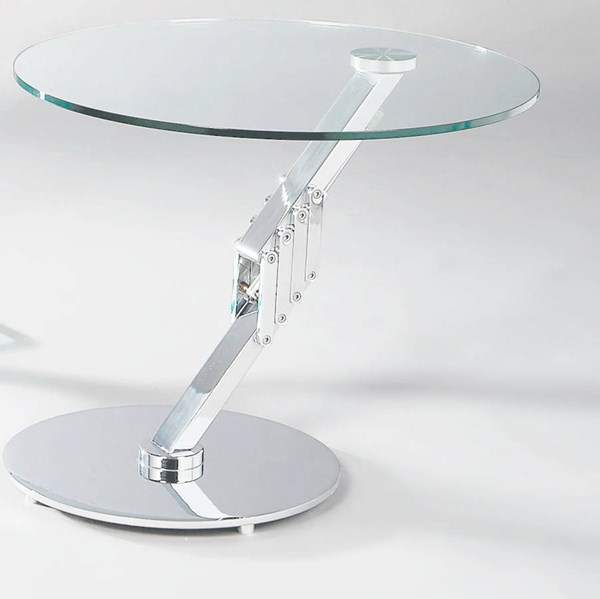 Modern Round Motion Glass Lamp Table Top CHF-8078-LT-T