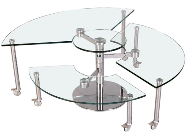 Three Level Motion Cocktail Table 8160-Ct-Tb CHF-8160-CT-TB