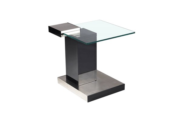 Brushed Stainless Steel Lamp Table Base CHF-8163-LT-B