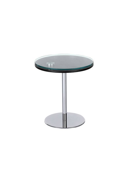 Merlot Glass Wood Metal Motion Lamp Table CHF-8176-LT