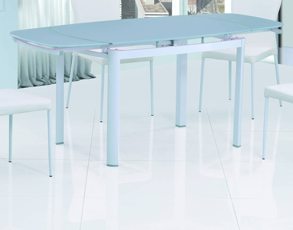 Amelia White Metal Dining Table Base CHF-AMELIA-DT-B