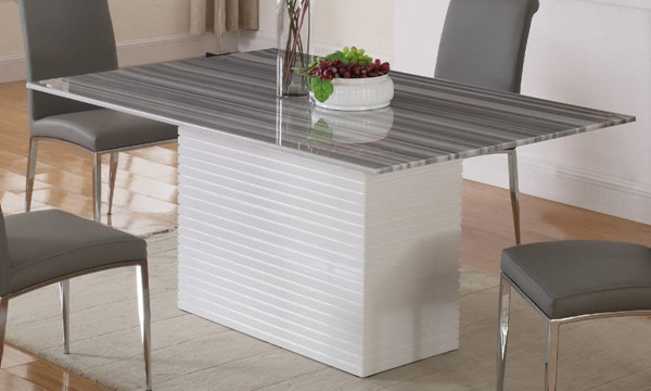 Chintaly Imports Brianna (Marble top only) Table Top   Item# 7321