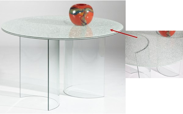 Sandwich Glass Dining Table Top Cbase-Sandwich-T CHF-CBASE-SANDWICH-T