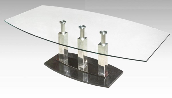 Cilla Modern Black Metal Cocktail Table Base CHF-CILLA-CT-B