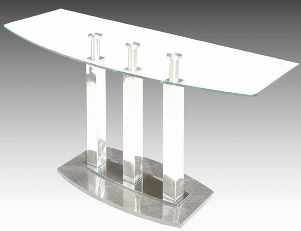 Cilla Modern Stainless Steel Sofa Table Legs CHF-CILLA-ST-M