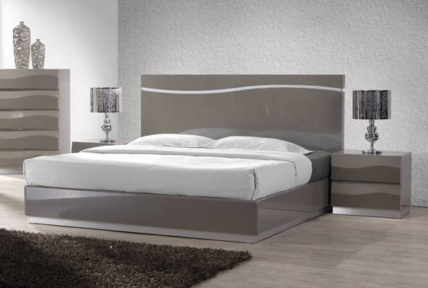 Chintaly Imports Delhi 2pc Bedroom Set with King Bed CHF-DELHI-BR-S1