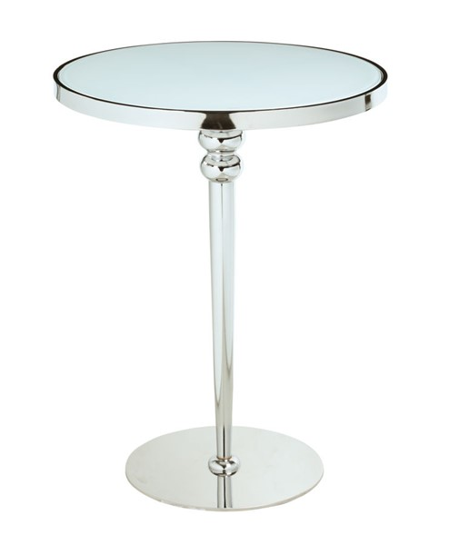 Chintaly Imports Denise Contemporary Starphire Glass Counter Table CHF-DENISE-CNT