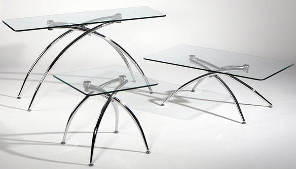 Chamfered Edge Glass Cocktail Table Top Elaine-Ct-T CHF-ELAINE-CT-T