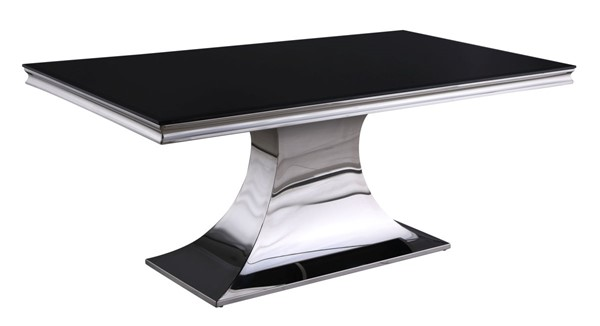 Chintaly Imports Emily Black Dining Table CHF-EMILY-DT