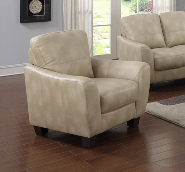 Fremont Modern Taupe Bonded Leather Club Chair CHF-FREMONT-CHR-TPE