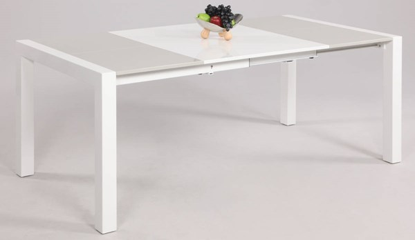 Gina Gloss White Parson Dining Table Base CHF-GINA-DT-B