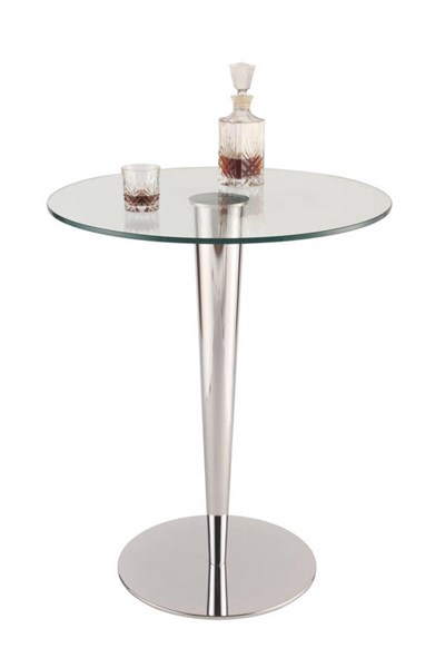 Grand Chrome Metal Round Dining Table Base CHF-GRAND-DT-B
